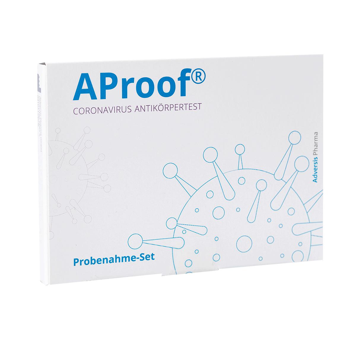 AProof® Coronavirus Antikörpertest PZN: 16783257