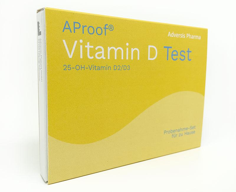 AProof® Vitamin D Test - Bequem von zu Hause